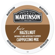 Martinson Hazelnut Cappuccino, RealCup portion pack for Keurig K-Cup Brewers, 24 Count (4319663)