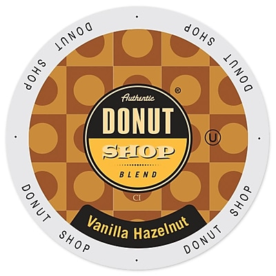 Authentic Donut Shop Vanilla Hazelnut, Single Serve Cup Portion Pack for Keurig K-Cup Brewers, 48 Count (SNDO2205) 24116357