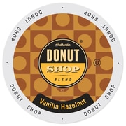 Authentic Donut Shop Vanilla Hazelnut, Single Serve Cup Portion Pack for Keurig K-Cup Brewers, 48 Count (SNDO2205)