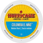 Hurricane Coffee And Tea Colombia El Nio, Single Serve Cups for K-Cup Brewers, 24 Count (SNHU5134)