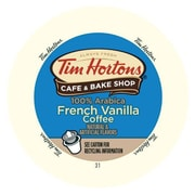 Tim Hortons French Vanilla, RealCup portion pack for Keurig K-Cup Brewers, 16 Count (3202026)