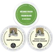 Faro Van Houtte European Coffee K-Cup Variety Pack, Keurig 2.0 K Cup Sampler - 72 Count (GMT9857-CP3)