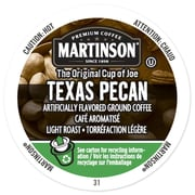 Martinson Coffee Texas Pecan, RealCup portion pack for Keurig K-Cup Brewers, 24 Count (4320220)
