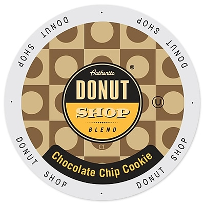 Authentic Donut Shop Chocolate Chip Cookie, Single Serve Cup Portion Pack for Keurig K-Cup Brewers, 96 Count (SNDO2200) 24116889