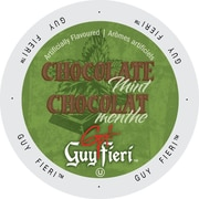 Guy Fieri Coffee Chocolate Mint, Single Serve Cup Portion Pack for Keurig K-Cup Brewers, 48 Count (SNGF5246)