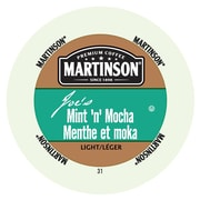 Martinson Coffee Mint 'N' Mocha, RealCup portion pack for Keurig K-Cup Brewers, 24 Count (4320105)