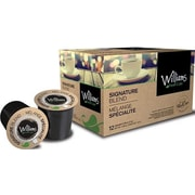 William's Fresh Cafe Signature Blend, RealCup portion pack for Keurig K-Cup Brewers, 12 Count (3814798)
