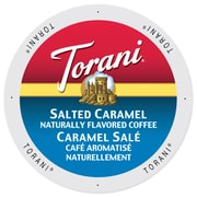 Torani Coffee Salted Caramel, Single Serve Cup Portion Pack for Keurig K-Cup Brewers, 24 Count (SNTR5234)
