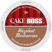 Cake Boss Indulgent Beverages Hazelnut Mochaccino, Single Serve Cup Portion Pack for Keurig K-Cup Brewers, 24 Count (SNSC5530)