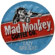 Mad Monkey Lazy Daylight, RealCup portion pack for Keurig K-Cup Brewers, 96 Count (4900290)