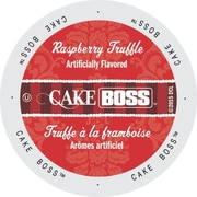 Cake Boss Coffee Raspberry Truffle, Single Serve Cup Portion Pack for Keurig K-Cup Brewers, 24 Count (SNCB5236)