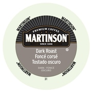 Martinson Coffee Dark Roast, RealCup portion pack for Keurig K-Cup Brewers, 96 Count (4320031)