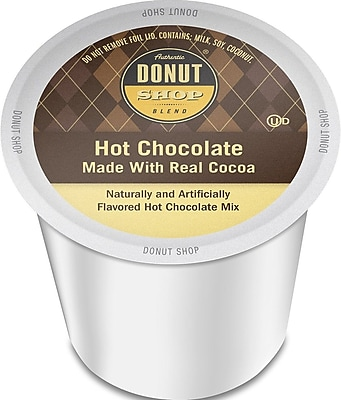 Authentic Donut Shop Hot Chocolate, Single Serve Cup Portion Pack for Keurig K-Cup Brewers, 24 Count (SNDO5526) 24116996