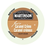 Martinson Coffee Caramel Creme, RealCup portion pack for Keurig K-Cup Brewers, 24 Count (4320102)