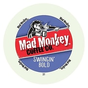Mad Monkey Swingin' Bold, RealCup portion pack for Keurig K-Cup Brewers, 48 Count (4900292)
