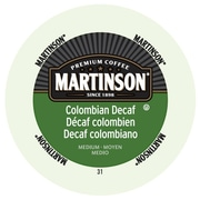 Martinson Coffee Colombian Decaf, RealCup portion pack for Keurig K-Cup Brewers, 48 Count (4320032)