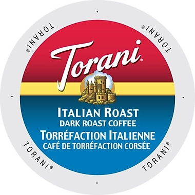 Torani Coffee Italian Roast, Single Serve Cup Portion Pack for Keurig K-Cup Brewers, 192 Count (SNTR5142)