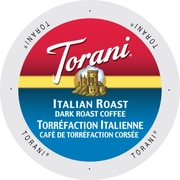 Torani Coffee Italian Roast, Single Serve Cup Portion Pack for Keurig K-Cup Brewers, 96 Count (SNTR5142)