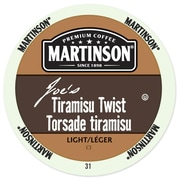 Martinson Coffee Tiramisu Twist, RealCup portion pack for Keurig K-Cup Brewers, 24 Count (4320104)