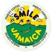 Marley Coffee Smile Jamaica Blend, RealCup portion pack for Keurig K-Cup Brewers, 96 Count (4689858)
