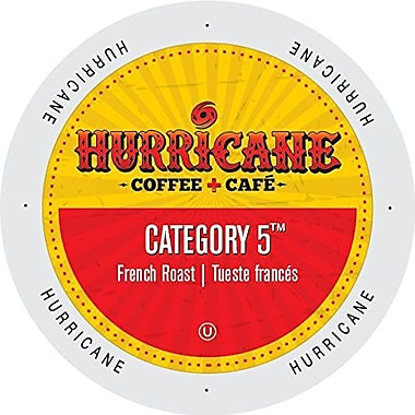 Hurricane Coffee And Tea Category 5, Single Serve Cup Portion Pack for K-Cup Brewers, 48 Count (SNHU5132)