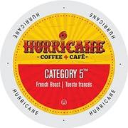 Hurricane Coffee And Tea Category 5, Single Serve Cup Portion Pack for K-Cup Brewers, 24 Count (SNHU5132)
