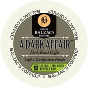 Balzac's Coffee Roasters Dark Affair, RealCup portion pack for Keurig K-Cup Brewers, 96 Count (3363001)
