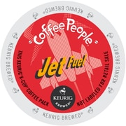 Coffee People Jet Fuel Extra Bold Coffee, K-Cup Portion Pack for Keurig Brewers, 192 Count (5000053248)