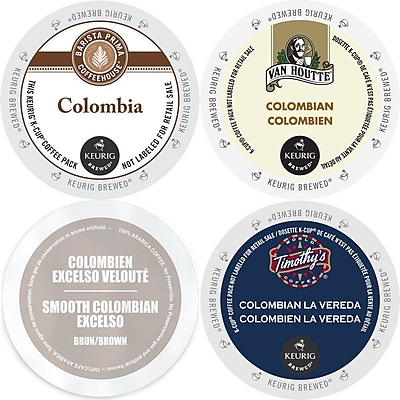 Colombia Smooth Coffee K-Cup Variety Pack, 96 Count Sampler, 96 Count (GMT9073-CP4) 24116403