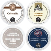 Colombia Smooth Coffee K-Cup Variety Pack, 96 Count Sampler, 96 Count (GMT9073-CP4)