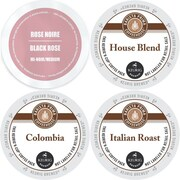 Faro Barista Prima K-Cup Variety Pack, Keurig 2.0 K Cup Coffee Sampler, 96 Count (GMT9804-CP4)