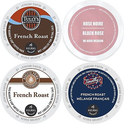 Faro French roast K-Cup Variety Pack, Keurig 2.0 K Cup coffee Sampler - 96 Count, 96 Count (GMT9913-CP4) 24116408