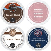 Faro French roast K-Cup Variety Pack, Keurig 2.0 K Cup coffee Sampler - 96 Count, 96 Count (GMT9913-CP4)