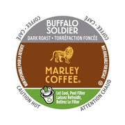 Marley Coffee Buffalo Soldier, RealCup portion pack for Keurig K-Cup Brewers, 24 Count (4689855)