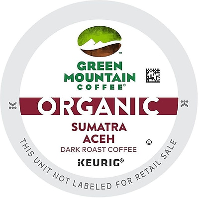 Green Mountain Coffee Organic Sumatra Aceh, K-Cup Portion Pack For Keurig Brewers, 192 Count (11GR156-SUMUTRA24CT)