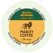 Marley Coffee Mystic Morning, RealCup portion pack for Keurig K-Cup Brewers, 48 Count (4689852)