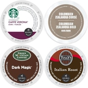 Dark Coffee Variety Pack for Keurig K-Cup Brewers (96 Count), 96 Count (GMT9002-CP4)