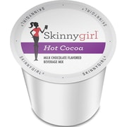 Skinnygirl Indulgent Beverages Hot Chocolate, Single Serve Cup Portion Pack for Keurig K-Cup Brewers, 24 Count (SNSG5515)