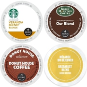 Keurig Light roast K-Cup Coffee Variety Pack Bundle, 96 Count (GMT9040-CP4)
