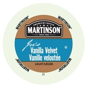 Martinson Coffee Vanilla Velvet, RealCup portion pack for Keurig K-Cup Brewers, 48 Count (4320101)