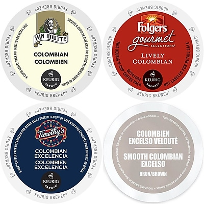 Colombian roast K-Cup Coffee 96 Count Variety Pack - Keurig 2.0 K-Cup Sampler, 96 Count (GMT9071-CP4) 24116433
