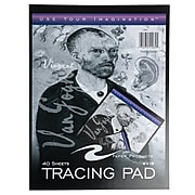 JAM Paper Tracing Paper, 9 x 12, 40 Sheets/Pad (189931300)