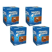 Maxwell House Blend Coffee Keurig® K-Cup® Pods, Medium Roast, 24/Box, 4 Boxes/Carton (353032)