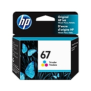 HP 67 Tri-Color Standard Yield Ink Cartridge (3YM55AN#140)