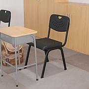 Flash Furniture HERCULES™ 880 lbs. Plastic Powder Coated Frame Stack Chair, Black