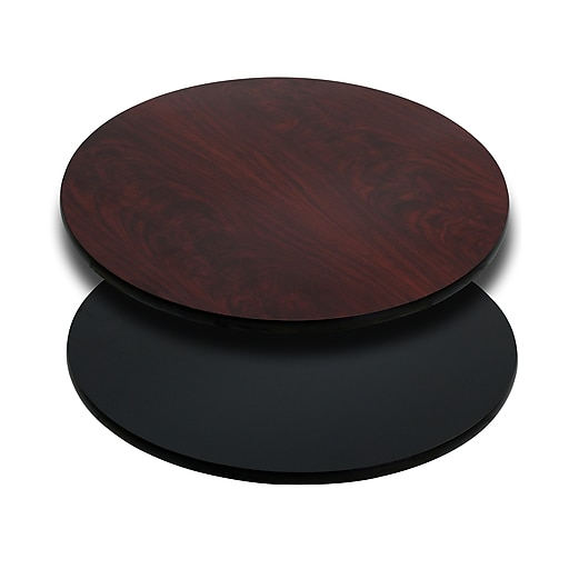 Flash Furniture 30 Laminate Round, Round Table Tops Home Depot