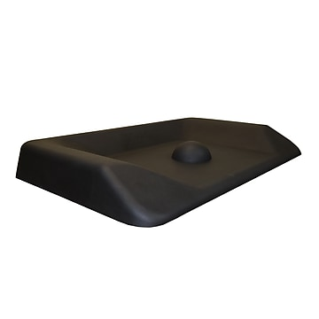 "Uncaged Ergonomics Active Standing Anti-Fatigue Floor Mat, 34""L x 20""W, Black (ASM-B)"