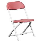 Flash Furniture Plastic School Chair, Burgundy (YKIDBY)