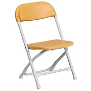 Flash Furniture Plastic School Chair, Yellow (YKIDYL)