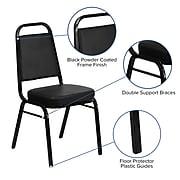 Flash Furniture HERCULES Series Vinyl Banquet Chair, Black (FD-BHF-1-GG)